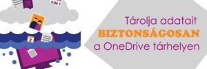 OneDrive tárhely